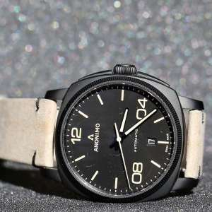 Anonimo Epurato Automatic Stainless Steel & DLC AM-4000.02.292.K19 – Swiss Time