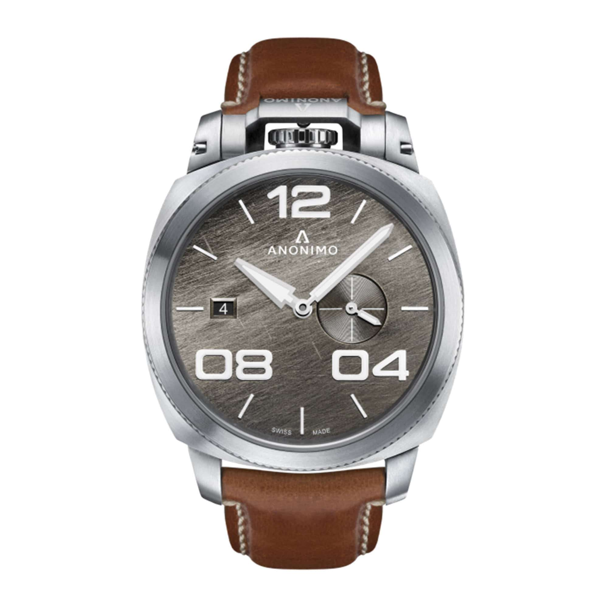 Anonimo Militare Automatic Stainless Steel AM-1020.01.002.A02 – Swiss Time
