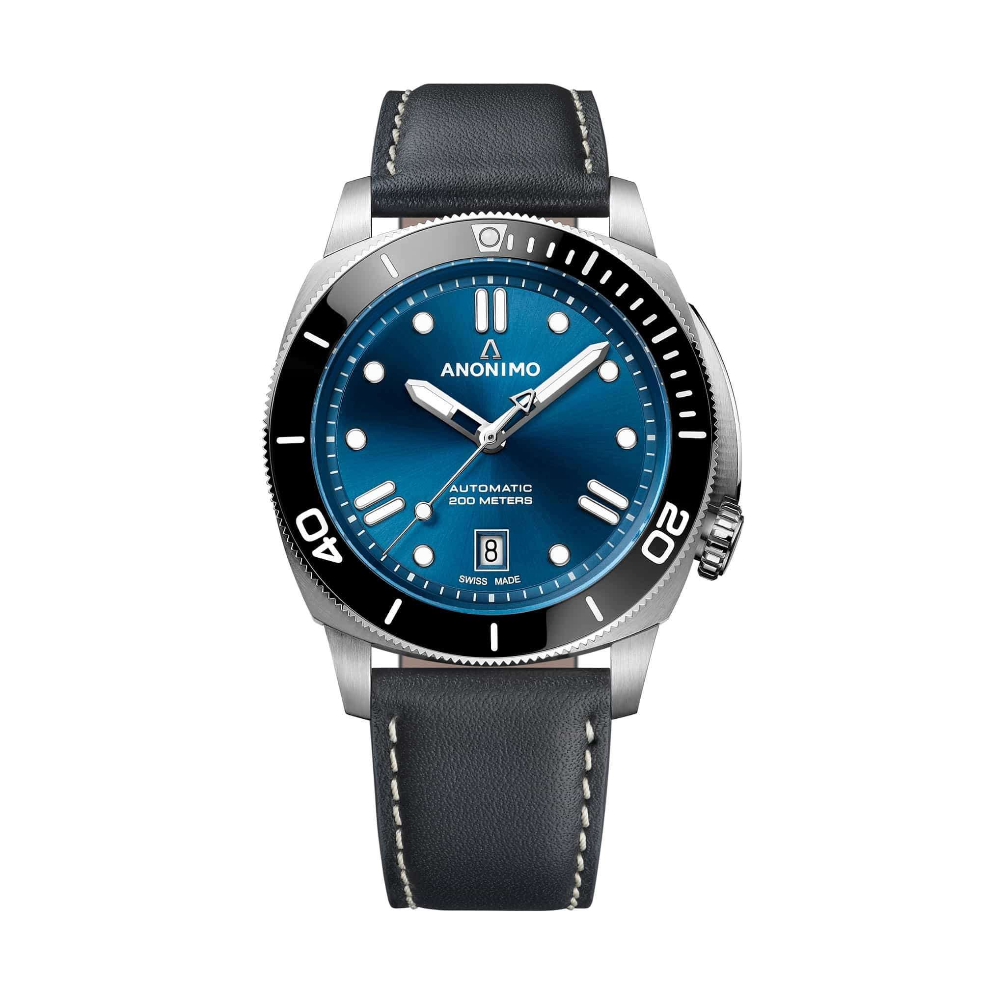 Anonimo Nautilo 42 mm Blue Dial AM-5009.09.103.A01 – Swiss Time