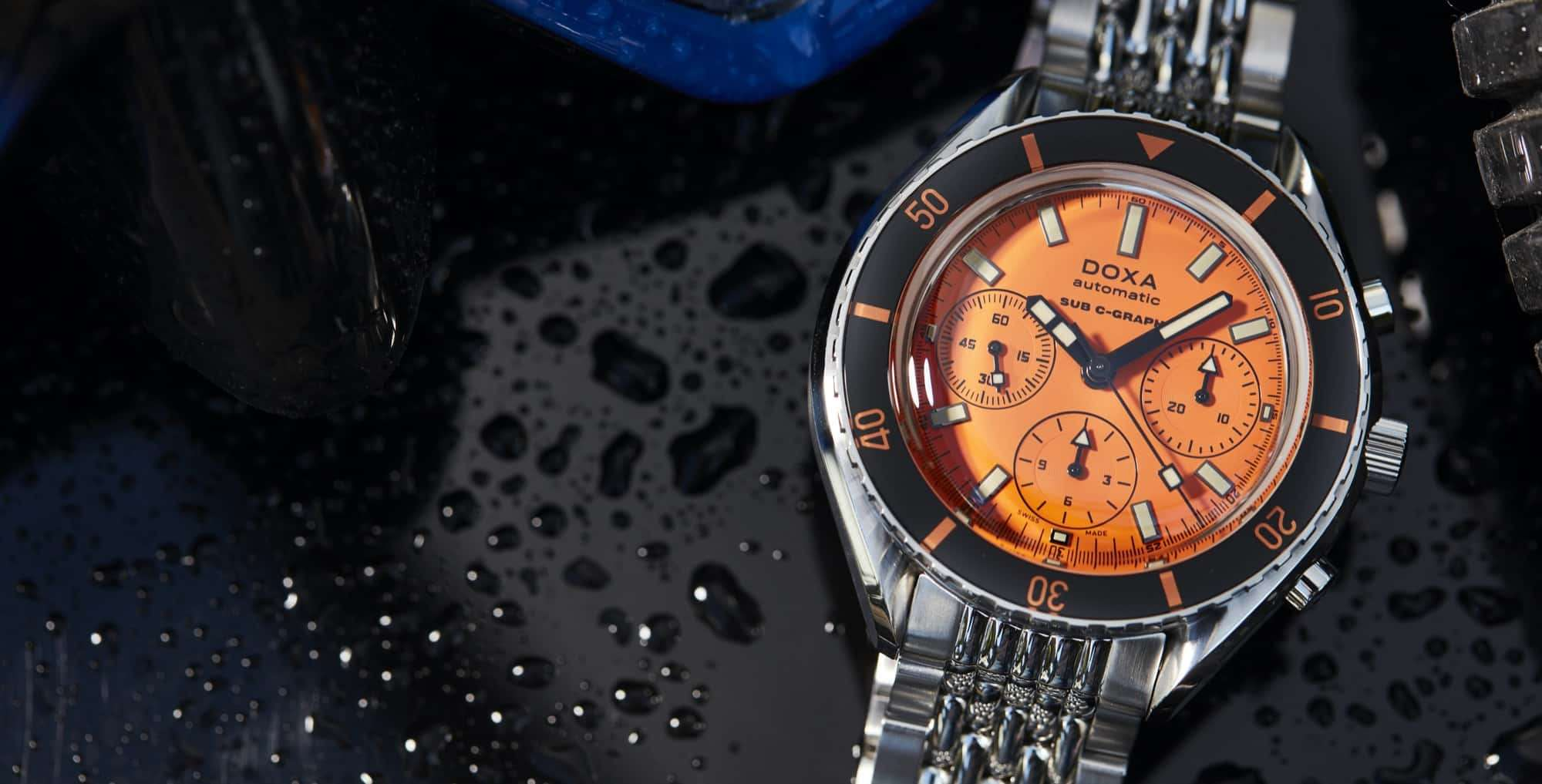 DOXA SUB 200 C-GRAPH – Swiss Time