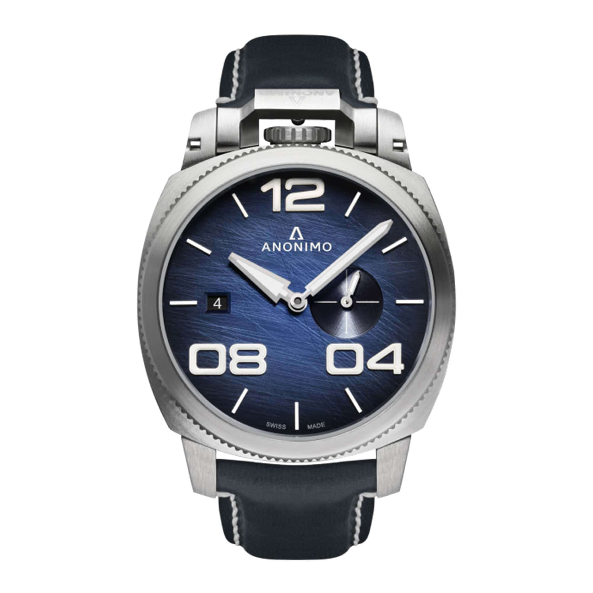 Anonimo Militare Automatic Stainless Steel AM-1020.01.003.A03 – Swiss Time