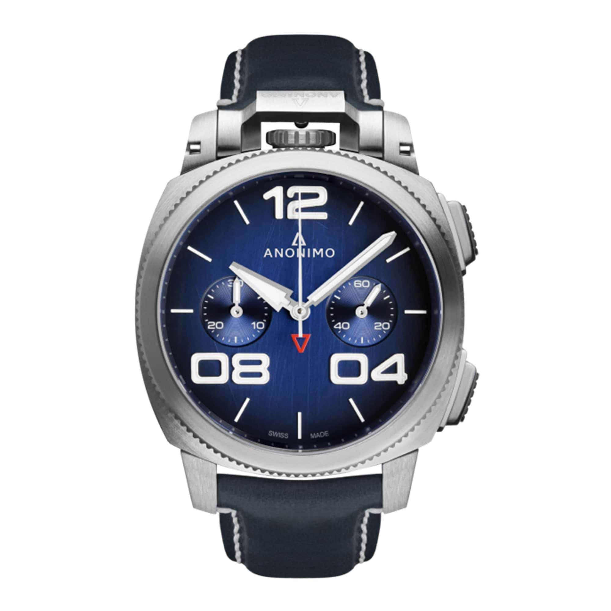 Anonimo Militare Chrono Stainless Steel AM-1120.01.003.A03 – Swiss Time