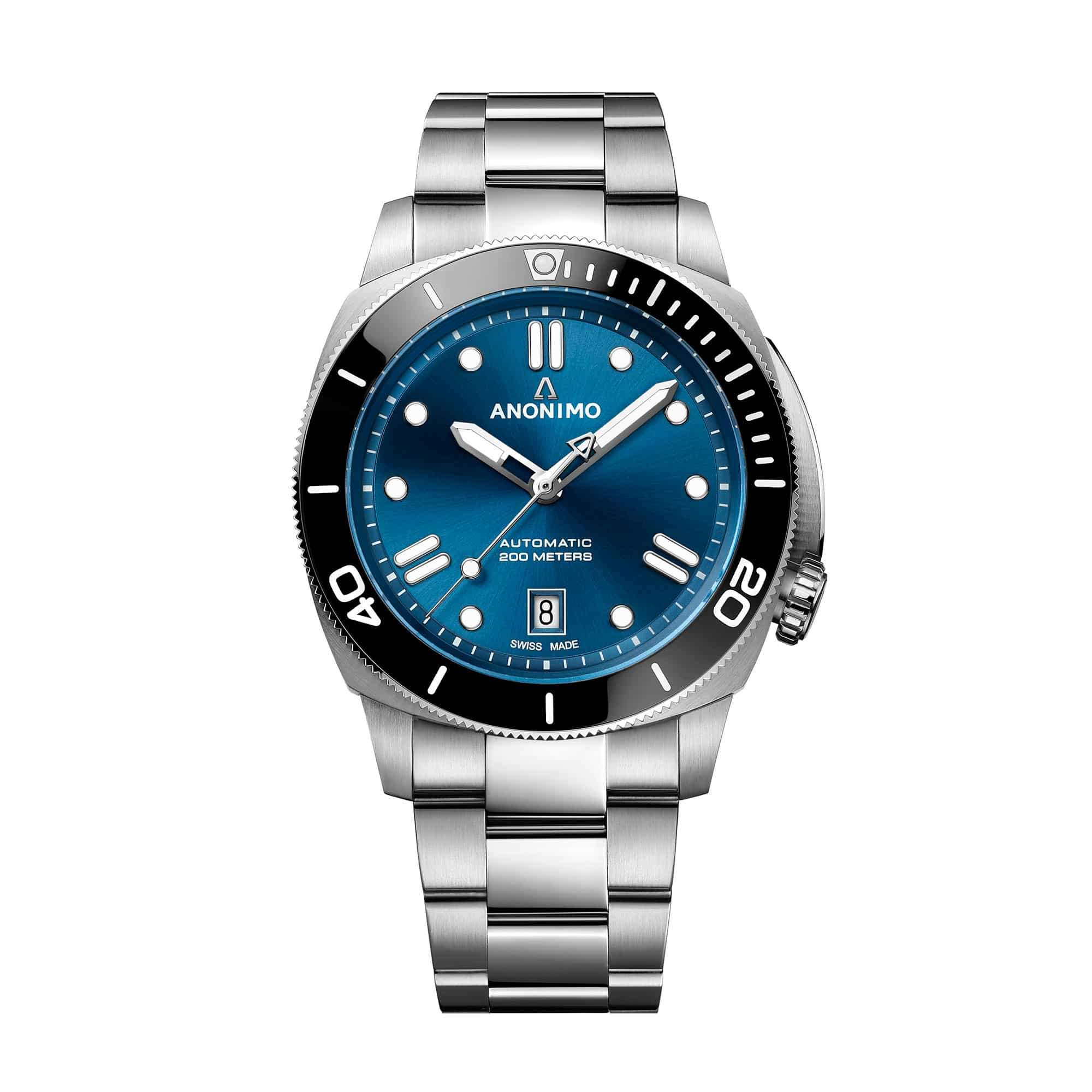 Anonimo Nautilo 42 mm Blue Dial AM-5009.09.103.M01 – Swiss Time