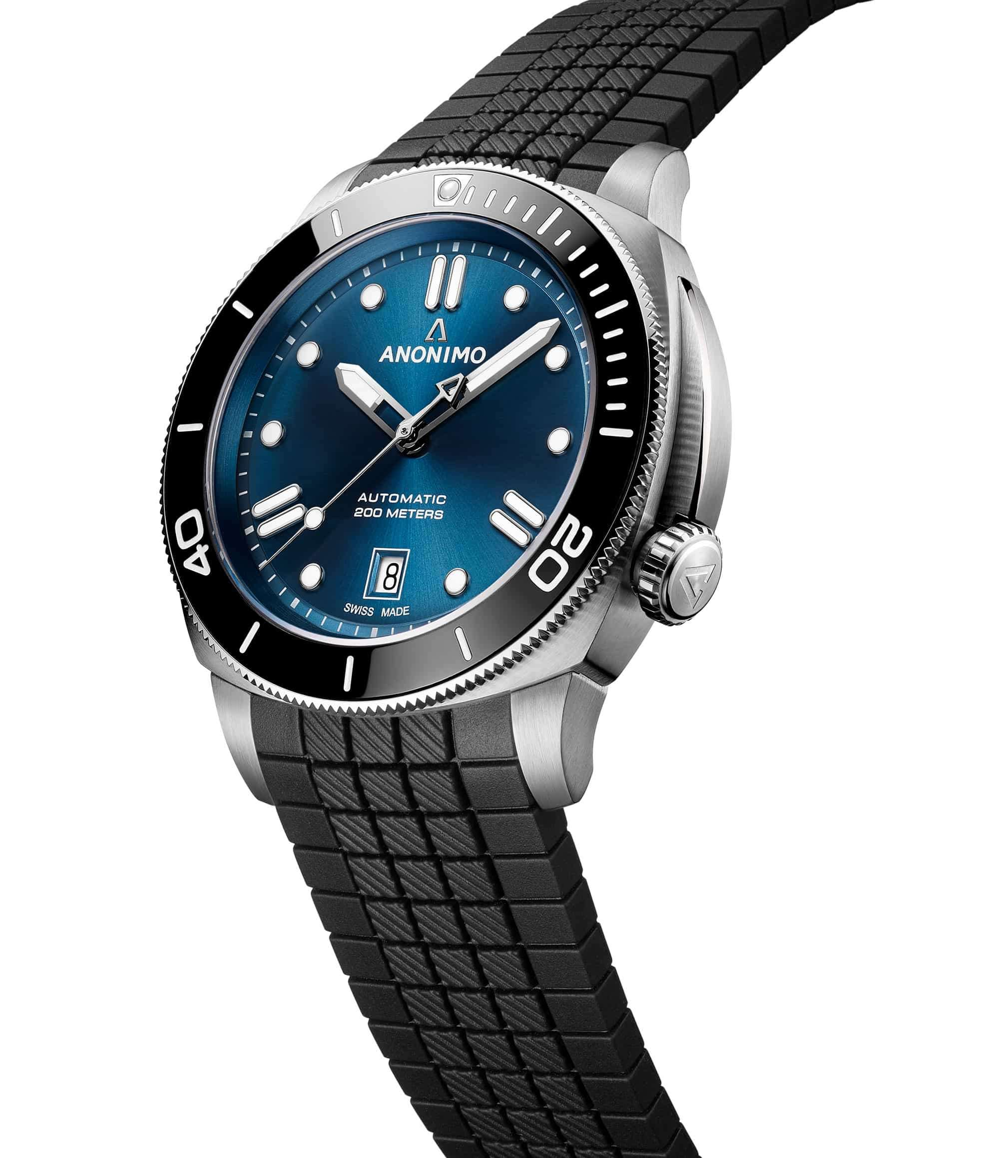 Anonimo Nautilo 42 mm Blue Dial AM-5009.09.103.R11 – Swiss Time