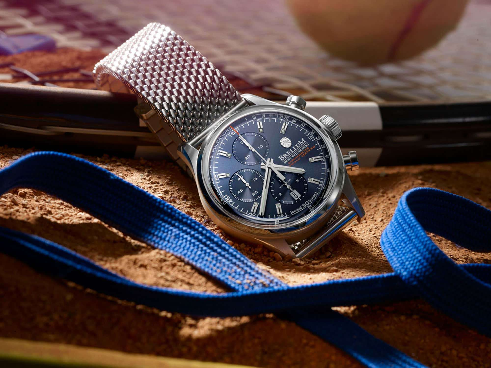 Brellum DuoBox Classic Automatic Chronometer Deep Blue DB.CH.110 – Swiss Time