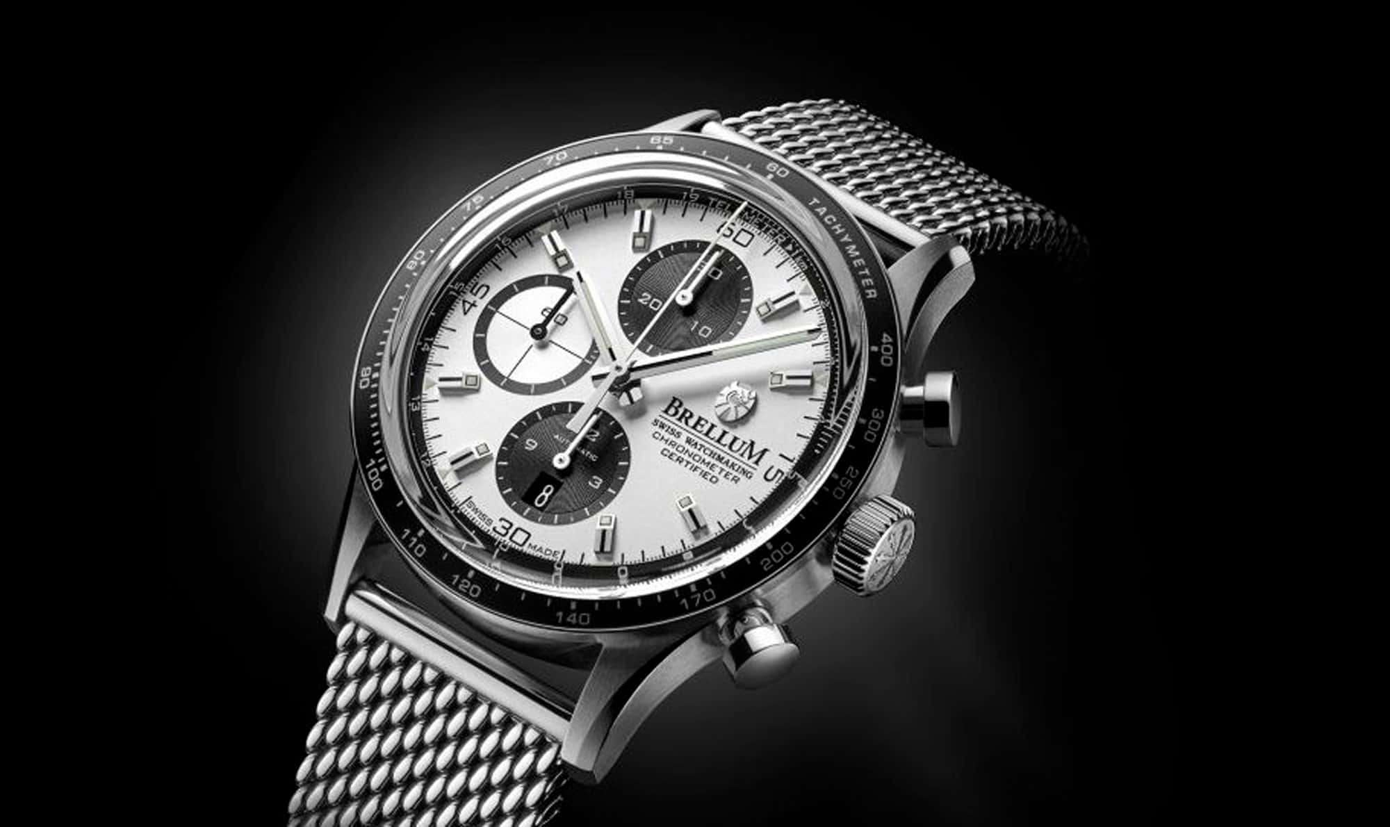Brellum Pandial Automatic Chronometer Silver DB.CH.301 – Swiss Time