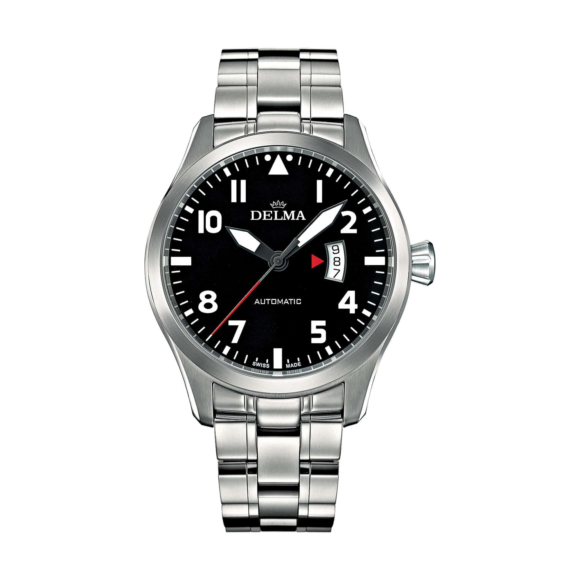 Delma Aero Commander Automatic Stainless Steel 41701.570.6.038 – Swiss Time