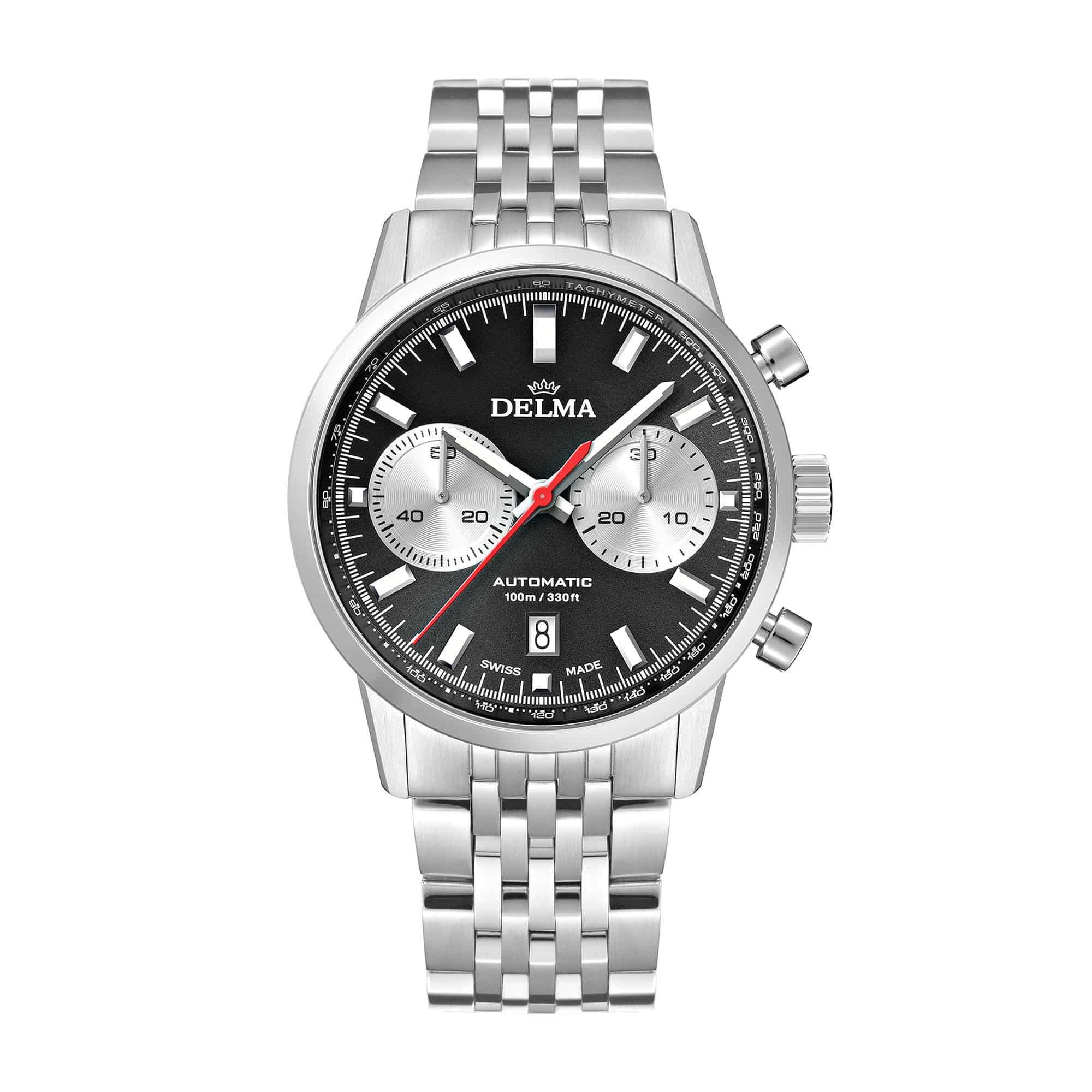Delma Continental Automatic Black Dial 41701.702.6.031 – Swiss Time