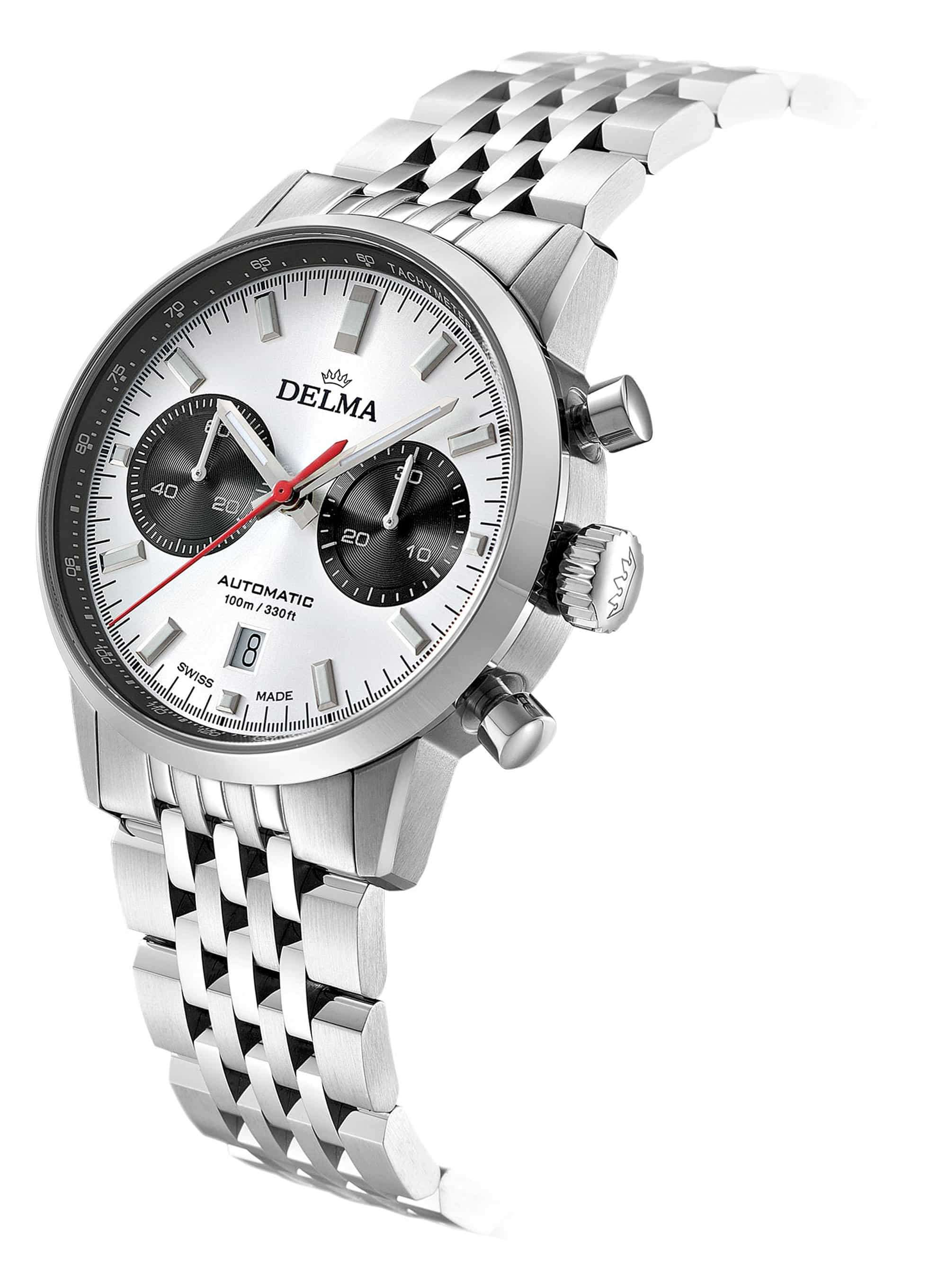 Delma Continental Automatic Silver Dial 41701.702.6.061 – Swiss Time