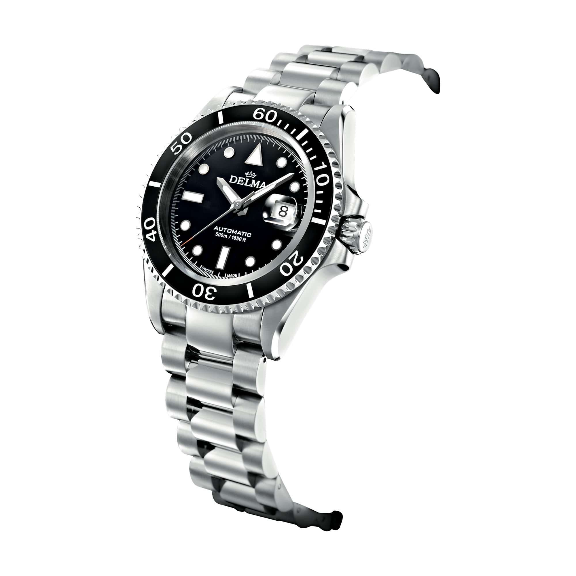 Delma Diver Commodore Automatic Stainless Steel 41701.690.6.031 – Swiss Time