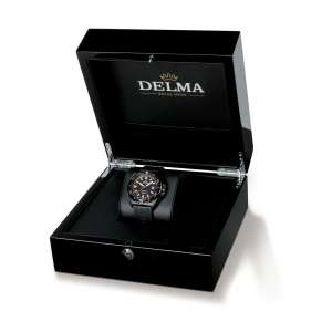 Delma Diver Shell Star Black Tag 44501.670.6.151 – Swiss Time