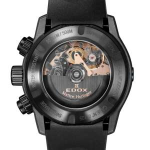 Edox CO-1 Carbon Chronograph Automatic 01125-CLNGN-NING – Swiss Time